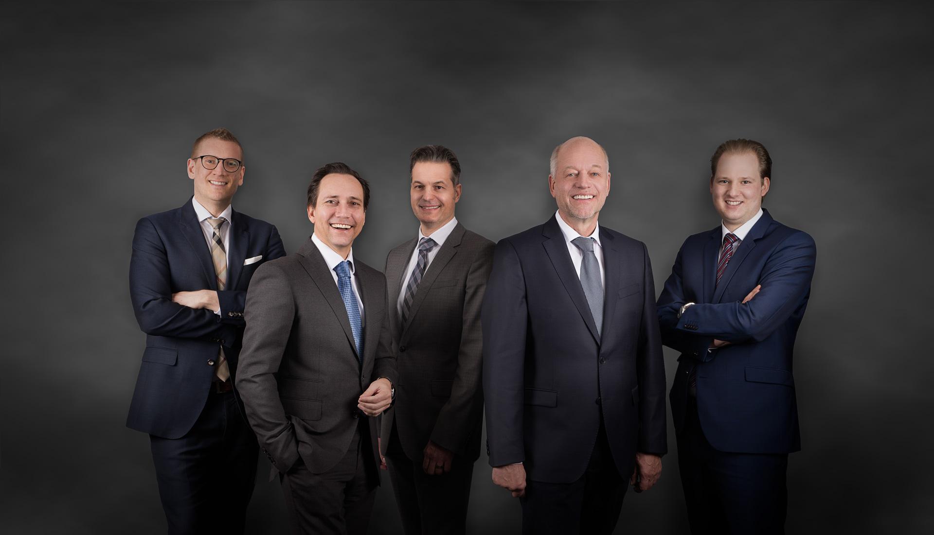 Michael Bluhm, Friedrich Schulte-Huxel, Stefan Gottwald, Stefan Mechlinski, Andreas Puls